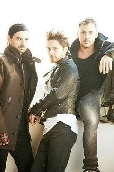 Favorite band!!! .30 Seconds to Mars
