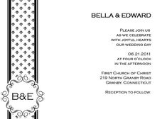 Free Black and White French Fleur De Lis Printable Invitation and RSVP cards. Plan My Wedding, Our Wedding Day, Wedding Stuff, Wedding Ideas, Free Printable Wedding Invitations, Wedding Invitation Kits, Churches Of Christ, Free Printables, Photos