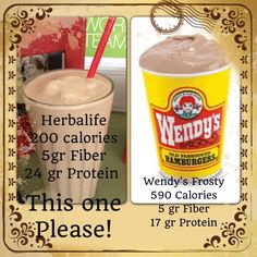 Pin it and click it.  Herbalife is nutritious and yummy and for every body!