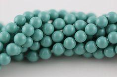 6mm Jade Pearl, Swarovski® crystals, Jade, 6mm round (5810). Sold per pkg of 38 - pinned by pin4etsy.com