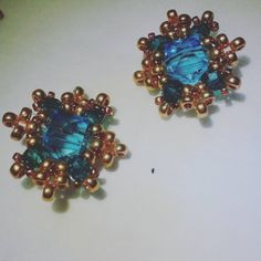 After checking out cool things on line and adding them to my boards, I decided to post my own production.   #handmadewithlove #handmade #handmadeearrings #jewelry #handmadejewelry #earing #earings #beads #beading #beadedearrings #beadedjewelry #handcraft #diy