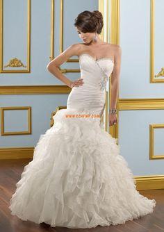 Organza Brillante Natural Vestidos de novias 2014
