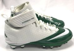 nike men superbad pro green white football cleats 511334 114 size 13