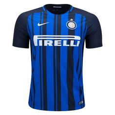 Inter Milan 2017/18 Home Jersey. Available now at WorldSoccerShop.com