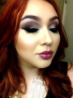 Brown smokey eye #makeupbymacfreak30