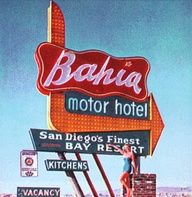 Vintage sign from the Bahia, c. 1950