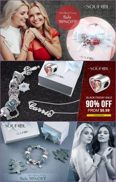 """Sterling Silver Charms as low as $6.99! There's really no more of a special present that """"fits"""" better than special memories you can actually wear..."""