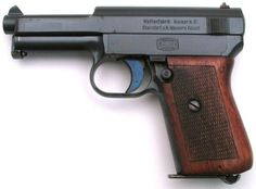Mauser 1914 (or 1910-14) pistol, caliber 7.65mm (.32ACP).