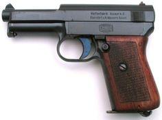 Mauser 1914 (or 1910-14) pistol, caliber 7.65mm (.32ACP).