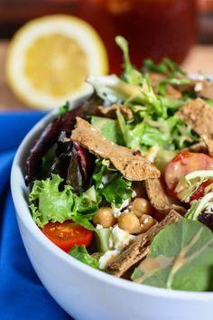 summer fattoush salad