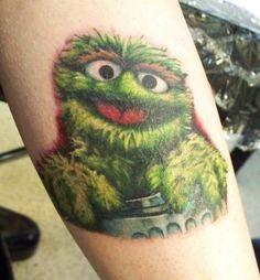 Oscar the Grouch ink