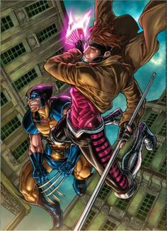 Wolverine & Gambit - Two of my favorites