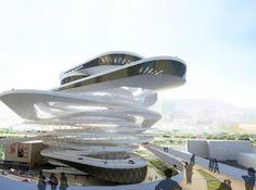 Hong Kong Car Park Proposal / Interface Studio Architects