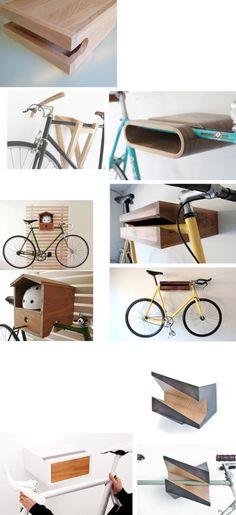Indoor Bike Rack for Apartment 2015 Hanging Bike Rack, Bicycle Hanger, Indoor Bike Rack, Bicycle Stand, Bike Design, Wood Design, Range Velo, Bike Shelf, Bicycle Storage