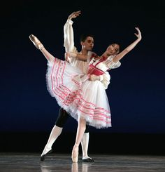San Francisco Ballet students in Bournonville's Flower Festival at Genzano