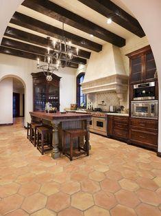 Mediterranean Kitchen Design, Pictures, Remodel, Decor and Ideas