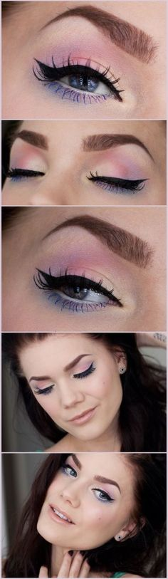 25 Awesome Spring Makeup Looks and ideas 2015 #makeupideas2015 #awesomemakeup #beauty #ukmakeuplooks
