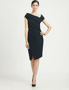 Donna Karan: Asymmetrical Dress