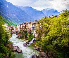 "allthingseurope: ""Chiavenna, Lombardy, Italy (by Jason Rodman) """