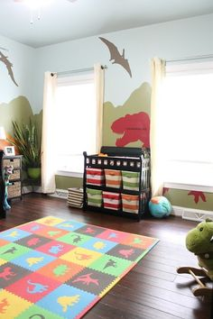 diy dinosaur themed nursery, bedroom ideas, home decor, painting, wall decor Source by penniebarraclough Decor themes Bedroom Themes, Nursery Themes, Bedroom Decor, Themed Nursery, Bedroom Ideas, Lego Bedroom, Childs Bedroom, Bedroom Wall, Kids Wall Decor