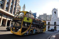 Hop-on-Hop-off-Bustour durch Buenos Aires, Buenos Aires. Hop-on-Hop-off-Bustour durch Buenos Aires in Buenos Aires bei Buenos Aires, Argentina buchen Santiago Calatrava, Ushuaia, Machu Picchu, Bus City, Der Bus, Busse, South America, Tours, Explore