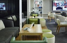 London Marriott Hotel Grosvenor Square, London, Executive lounge