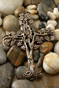 San Damian, Bronze Gifts, Bronze Wedding, Wall Crosses, Metal Crosses, Wedding Cross, Hope Symbol, Celtic Tree Of Life, Sacred Symbols