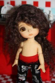 Fantine, my little model... | by *Peluche*
