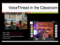 If your interested in learning about Voice Thread this is the site! Deb's blog is great.