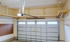 top 15 Beautiful Diy Garage Ceiling Storage Shelves You Need to Do. Overhead Garage Storage Plans … for the Home Storage Shed Organization, Garage Workshop Organization, Diy Storage, Storage Ideas, Organizing Ideas, Storage Solutions, Storage Hacks, Garage Storage Systems, Tool Storage