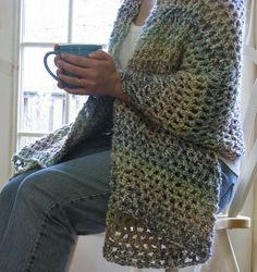 Bernat: Pattern Detail - Satin - Prayer Shawl (crochet)