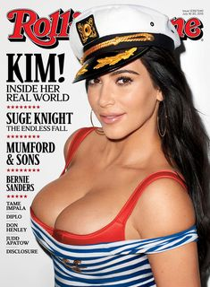 Kim Kardashian talks about her scandals, family, and feminism in our wide-ranging new cover story.
