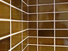 House of seta // heath tile caramel Heath Ceramics Tile, Heath Tile, Tile Floor, Caramel, Tiles, Surface, Flooring, Crafts, House