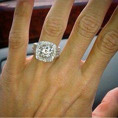 omg. Diamond Girl, 3 Carat, Diamond Rings, Wedding Planning, Hair Beauty, Engagement Rings, Crystals, Anniversary, Jewelry