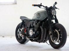 ϟ Hell Kustom ϟ: Yamaha XJR1200 By MB Cycles