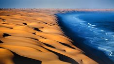 Picture of the day for May 27 2016 at by Bing; Namib Desert at the Atlantic Ocean in Africa ( Robert Harding World Imagery/Offset) Dubrovnik, Marina Bay, Ville New York, Namib Desert, Les Cascades, Atlantic Ocean, Natural Wonders, Nature Photos, Levis