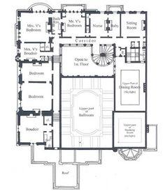 The Gilded Age Era: The Cornelius Vanderbilt II Mansion, New York City [Second Floor]