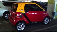 The most acceptable paint job for a smart car that I've seen.