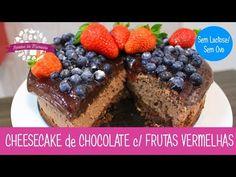 CHEESECAKE CREMOSO de CHOCOLATE (Sem Lactose/Sem Ovo) - Episódio 234 - Receitas da Mussinha - YouTube