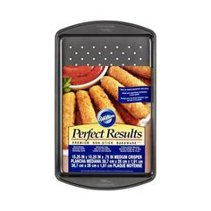 Wilton Perfect Results Crisper Pan - x - Baking & Party - Baking - Cake Pans & Bakeware at J Mozzarella Sticks, Chicken Nuggets, 10 Inch Cake, Cupcake Pans, Pan Sizes, Cupcakes, Cake Cover, Baking Supplies, Baking Tools