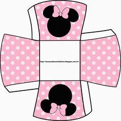 Minnie Rosa: Cajas para Imprimir Gratis.   Ideas y material gratis ...