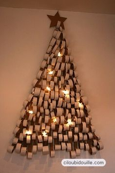 1000 images about noel on pinterest bricolage noel - Fabrication sapin de noel en carton ...