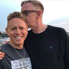 #DepecheMode #MartinGore and #AndyFletcher http://www.depmode.com #depmodecom