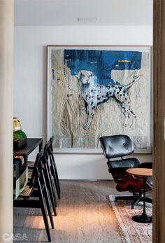 Apartamento mineiro tem móveis tradicionais com novo visual - Projeto Pedro Lázaro