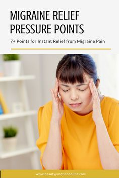 Discover the best migraine relief pressure points that work instantly!