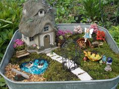 i hope my fairy garden inspires you to make one!