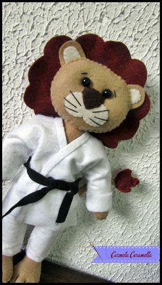 leão de quimono