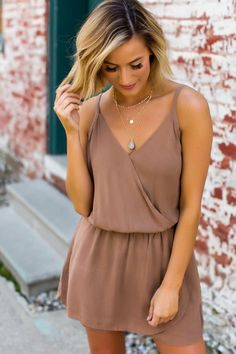 Dottie Couture Boutique, Camel, Cute Outfits, Rompers, How To Wear, Clothes, Instagram, Dresses, Style