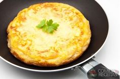 Receita de Omelete de batata