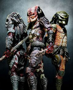 Predators Wave 5 (NECA) These figures are highly impressive for the cost. If you're a Predator fan I highly recommend them. Fiction Movies, Sci Fi Movies, Science Fiction, Predator Movie, Alien Vs Predator, Grandeur Nature, Aliens Movie, Alien Races, Xenomorph